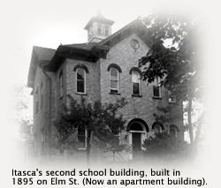 Itasca's 2nd school built in 1895